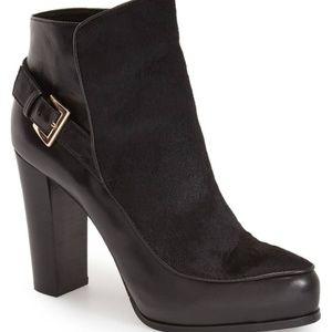 Black NICOLE MILLER Artelier Flora Boot 5.5 5 1/2